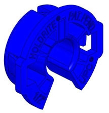 "HoldRite 3/4"" CTS Fire Retardant Polyethylene Tubing Insert, Blue"