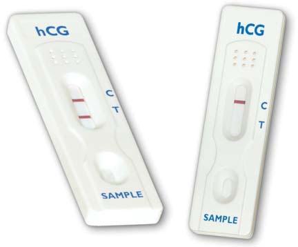 STA 1430050 50-Test, Single Step Cassette, Urine, hCG Pregnancy Dip Cassette Test Set with Dropper