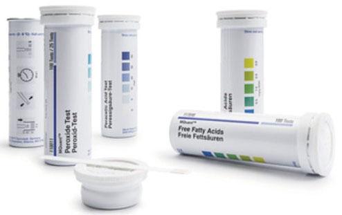 SIG 1100030001 100 Test per Fibre Case, 10-30-100-300 mg/L Measuring, Colorimetric, Supelco MQuant Copper Test Strip