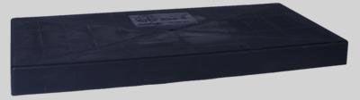 "DiversiTech EcoPad 18"" x 38"" x 3"" Equipment Pad (Black)"