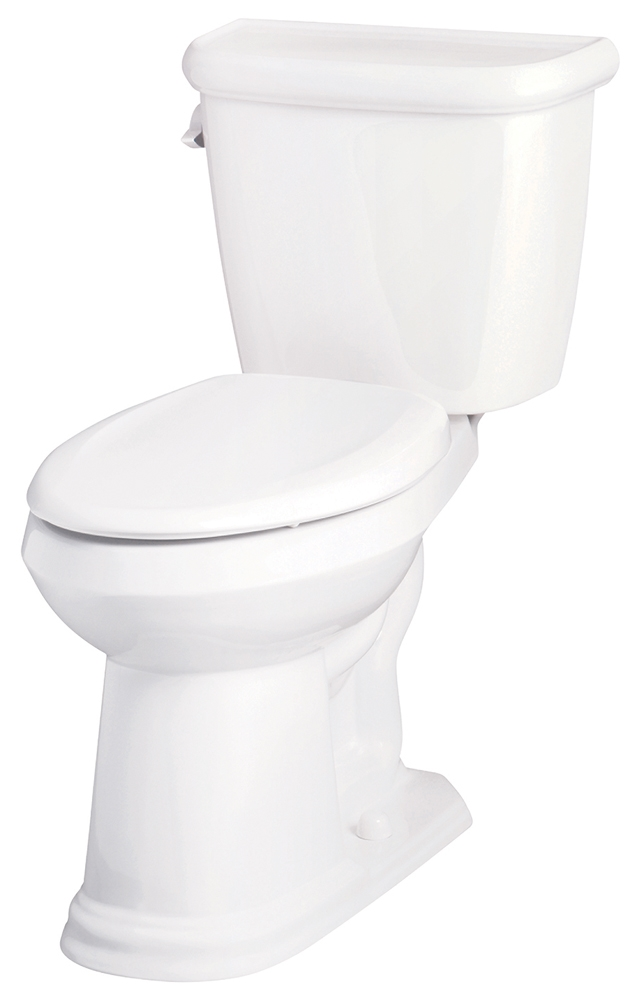 HE20-013 KIT GERBER BRIANNE WHT EL ADA 1.28 GPF 2PC TOILET W/ SOFTCLOSE SEAT