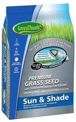 213096 GREUN170 25 LB GREEN THUMB SUN/SHADE SEED