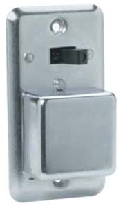 Bussmann Box Cover Unit with Switch Control/Fuse Socket for Type-T Plug Fuse, 15 A, 125 V, 1/2 HP