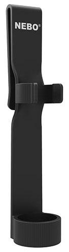"NEBO Big Larry® Work Light, 0.875"" x 1.125"" x 7.437"", 400/160 Secondartary Light mode Lumen, Red, Anodized Aircraft Grade Aluminum, Magnetic Base"