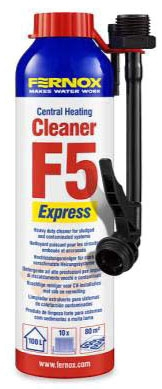 Fernox Amber Central Heating Protector, 280 ML Express Can, Corrosion, Liquid
