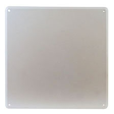 "Tomahawk Access Panel, 12"" x 12"", White, ABS, 1-Piece"