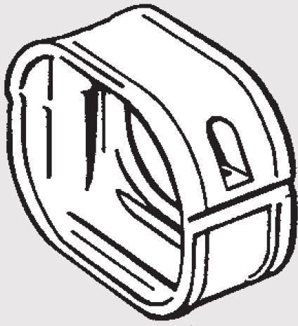 Inaba Slimduct SFJ-77-I - Flex Adaptor (20/Case)