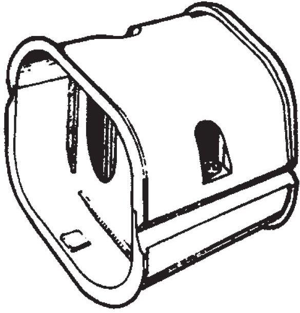 Inaba Slimduct SJ-140-I - Coupler (10/Case)