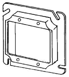APL 8486C EGS 4-11/16 2G 5/8 RAISE PLASTER RING