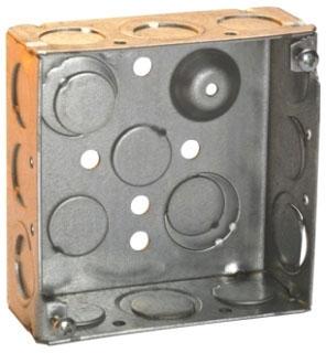 THP TP403 THP 4SQ BOX 2-1/8 DEEP WELDED