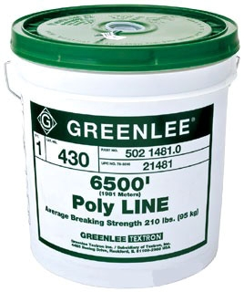 GRE 430 GRE PULL LINE POLY STRING (6500')