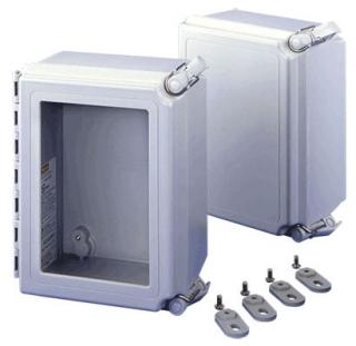 HOF A864CHSCFG HOF J BOX 8X6X4 N4X HC FIBERGLASS #29670