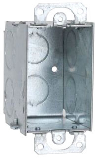 RAC 565 RAC BOX 1G 2-3/4D W/EARS 3/4 KO