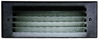 PRG P6802-31 PRG 1-PL7 BLK AL LOUV REC STEPLITE