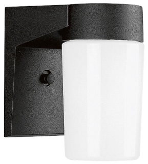 prg P5511-31 PRG 1-100W BLACK GLASS CYL WALL OUT
