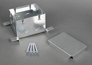 WMD 880S1 WMD FLOOR BOX 1G STEEL DEEP