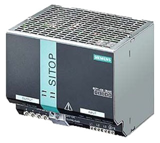 sie 6EP1436-3BA00 SIE POWER SUPPLY 480V 24VDC 20AMP INPUT: 400/500VAC 3-PH OUTPUT: 20AMPS @ 24VDC