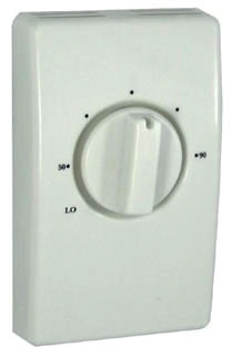 RYW D2022H10BA RYW DOUBLE POLE WITH LEADS 22AMP THERMOSTAT WHITE