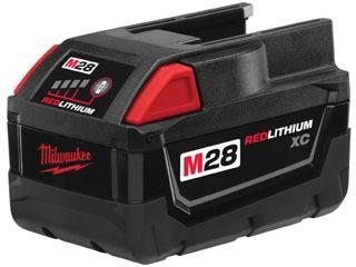 mil 48-11-2830 MIL 28V BATTERY M28 RED LITHIUM BATTERY