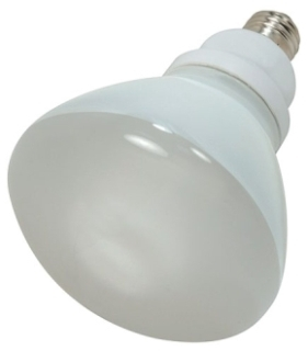 SAT S7247 SAT 15W R30 2700K 120V FLUOR LAMP CFL FLOOD