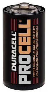 SLS PC1400 DURACELL ALKALINE BATTERY C