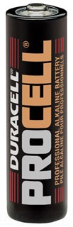 SLS PC1500 DURACELL ALKALINE BATTERY AA