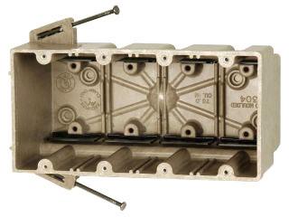 ALM 4304-NK ALM FIBERGLASS BOX 4G 3-9/16D 76CI