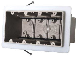 ALM 4304-NKV ALM FBRGLS 4G VAPOR SEAL SW BOX 76.0 CU IN ANGLED MID-NAILS SPEED KLAMPS