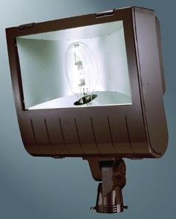 lum MHNKS1K LUM FLOODLIGHT 1000W MH MT INTEGRAL SLIP-FITTER W/LAMP INCL