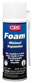 CRC 14077 CRC FOAM MINIMAL EXPANSION AEROSOL SEALANT