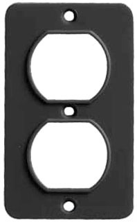 ERC 6031B ERC COVERPLATE 6031 DUPLEX RECPT BLACK