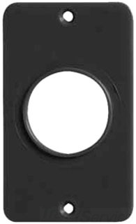 ERC 6032B ERC COVERPLATE 6032 BLK (SINGLE HOLE 1.390)