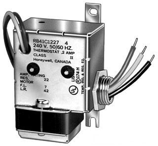 HON R841C1227 HON ELECTRIC HEAT RELAY 240V SPST