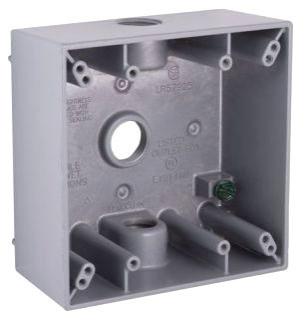 bel 5333-0 BEL BOX 3-1/2 HUBS 2G