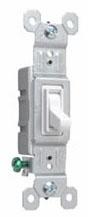 PAS 660-WG PAS SW SP 15A 120V W/ GRD WHITE