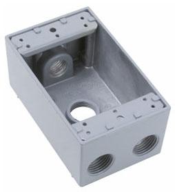 PAS WPB24 PAS BOX 4-1/2 HUB 1G