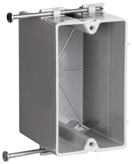 PAS P1-18-R PAS PLASTIC BOX 1G 2 7/8