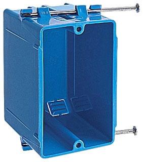 CAR B118A CAR PLASTIC BOX 1G 2 7/8 D
