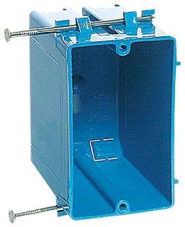 CAR B120A-UPC CAR PLASTIC BOX 1G 3 1/4 D 20CI