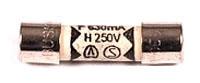 FLK 871173 (PKG OF 5) FLK METER FUSE 630MA 250V F/ #77 5X20MM FAST ACTING BUSS GDA.630