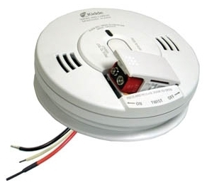 KID 21007624 KID AC/DC WIRE-IN PHOTOELECTRIC SMOKE/CARBON MONOXIDE ALARM