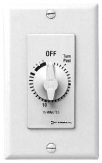INT FD15MH-W INT TIMER SPRINGWOUND DECORA SPST 15MIN W/HOLD WHITE