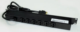 WMD R5BZ20 WMD RACKMOUNT PDU 6/5-20R REAR W/ON-OFF SWITCH SURGE PROTECTED