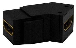 onq WP1234-BK PAS HDMI KEYSTONE INSERT BLACK (M10)
