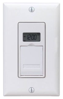 INT EJ600 INT DIGITAL IN-BOX WALL TIMER 600W MAX W/ASTRONOMIC FEATURE WHITE