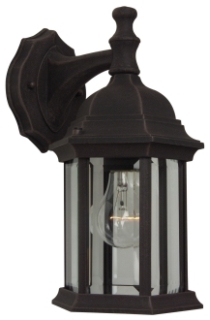 CRA Z294-RT CRA 1-100 RUST CLR BEVELED GLSS EXT SCONCE (OLD# Z294-07)