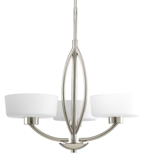 prg P4537-09 PRG 3-60W CAND CHANDELIER
