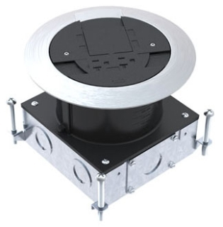 WMD RPSFB WMD STEEL AND NONMETALLIC FLOOR BOX