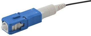 HPW FCSC900KSM12 HPW FIBER CONN SC 9/125 UPC SM 900/250UM 12/PK