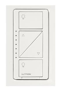 LUT PD-6WCL-WH LUT RF DIMMER SP/3-WAY 150W CFL/LED 600W INC WH